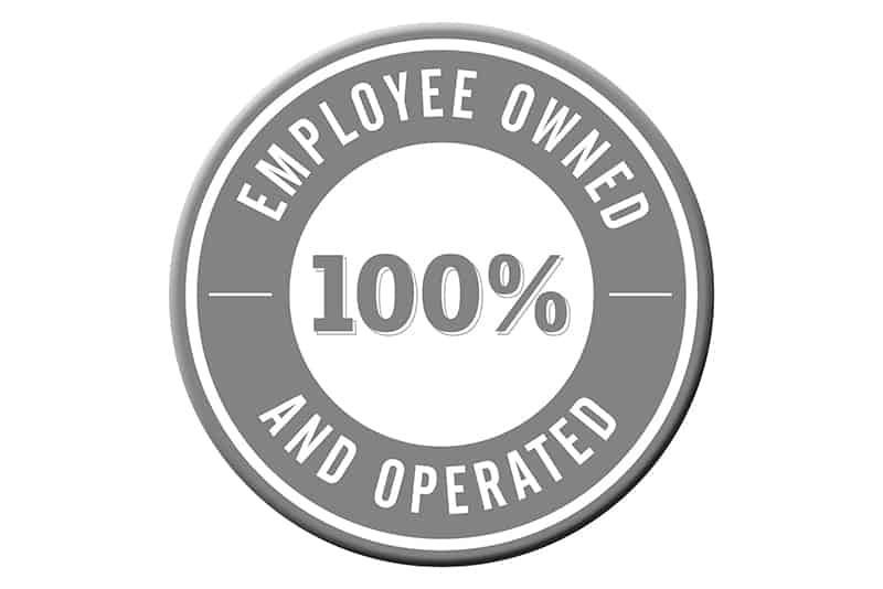 100 percent employee owned and operated seal ESOP
